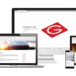 Webseite, Text & Logo Design für Gutekunst AG