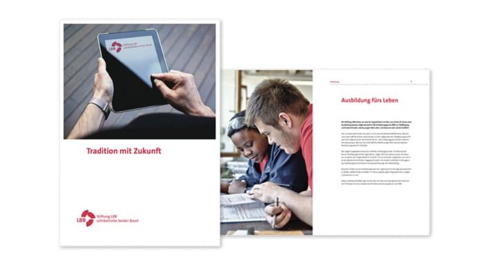 LBB Lehrbetriebe Unternehmensbroschüre