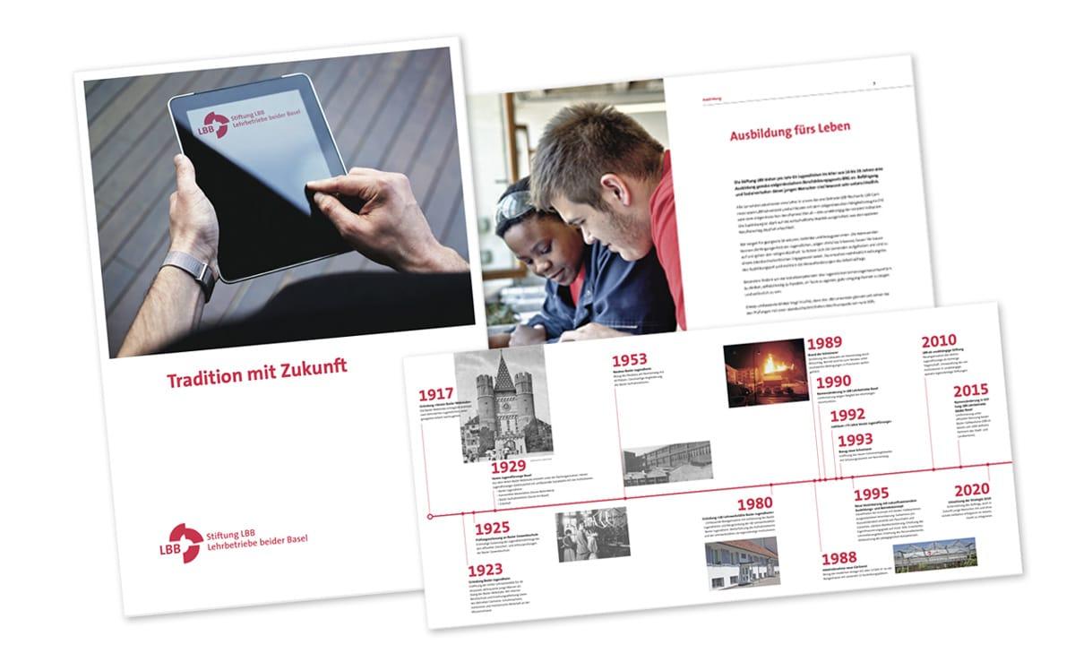 LBB Lehrbetriebe Unternehmensbroschüre 2