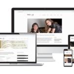 Webseite, Text & Logo Design für Pianamo Klavierduo