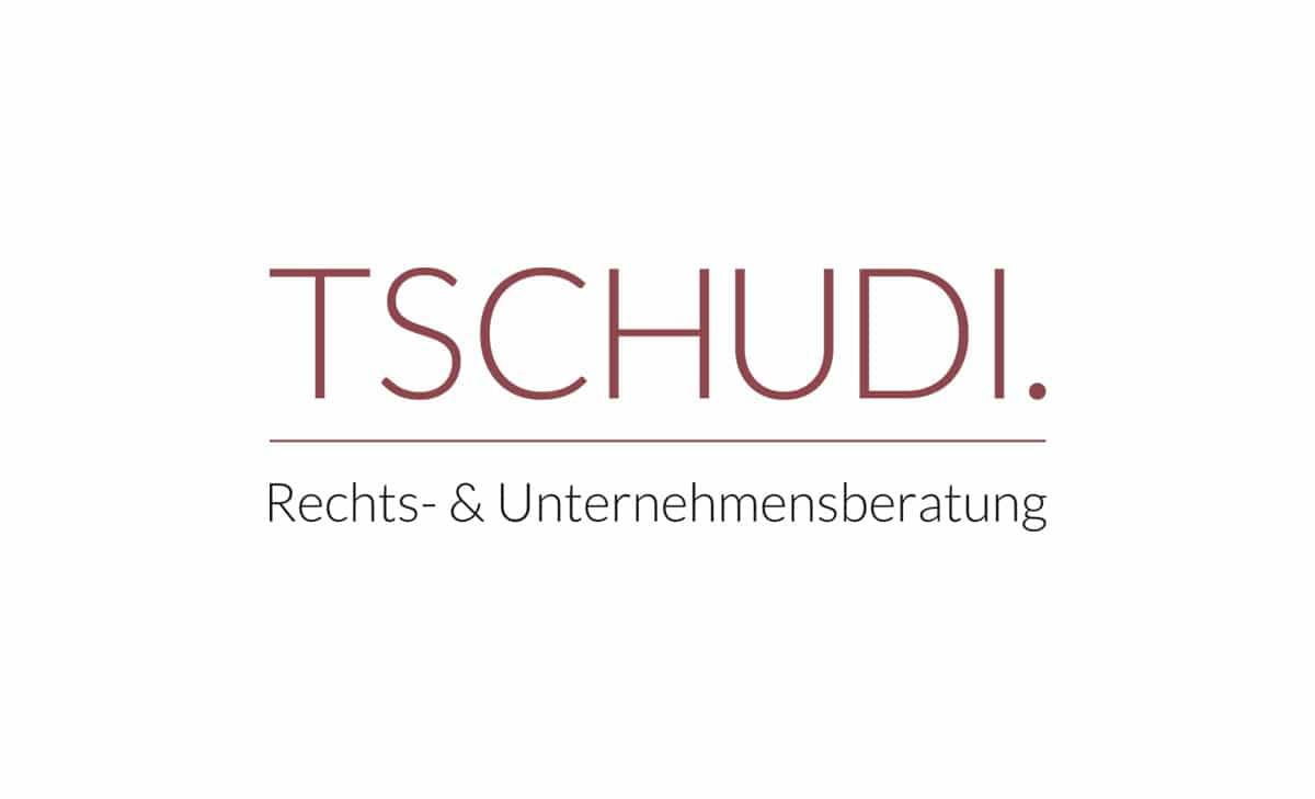 Logo Design für Tschudi Rechtsberatung 1