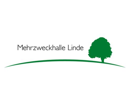 Logo Design für Mehrzweckhalle Linde