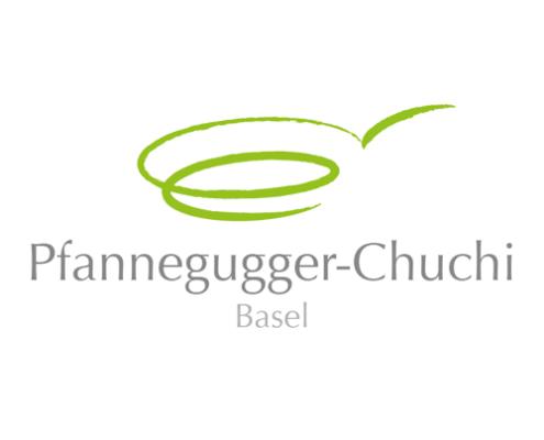 Logo Design für Pfannengugger-Chuchi