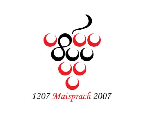 Logo Design für 800 Jahre Maisprach