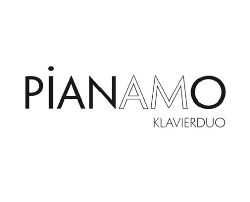 Logo Design für Pianamo Klavierduo